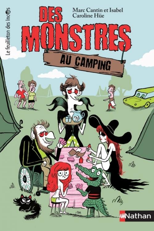 Couverture Des monstres au camping, tome 1