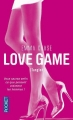 Couverture Love game, tome 1 : Tangled / Jeux sans frontières Editions Pocket 2015