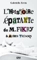 Couverture L'histoire épatante de m. Fikry et autres trésors / La librairie de l'île Editions 12-21 2015
