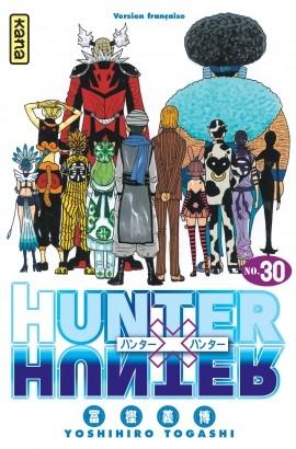 Couverture Hunter X Hunter, tome 30