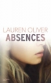 Couverture Absences Editions Hachette 2015