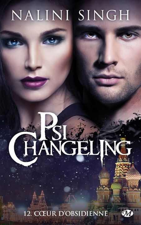 Couverture Psi-changeling, tome 12 : Coeur d'obsidienne