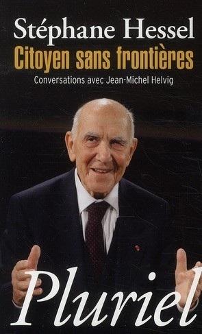 Couverture Citoyen sans frontières, conversations avec Jean-Michel Helvig