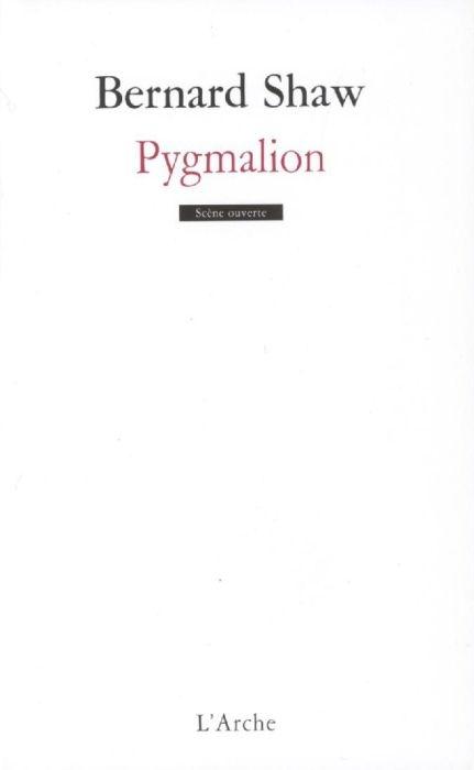 Couverture Pygmalion