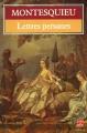 Couverture Lettres persanes Editions Le Livre de Poche 1984
