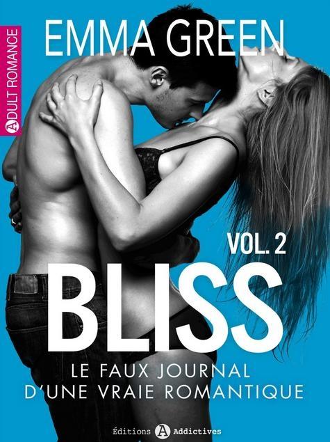 Couverture Bliss, le faux journal d'une vraie romantique, tome 02