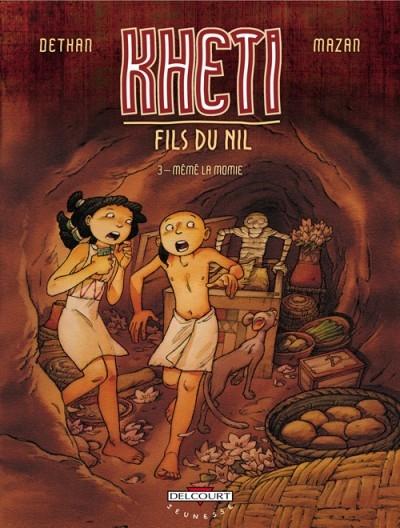 Couverture Kheti fils du Nil, tome 3 : Mémé la momie