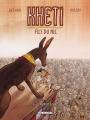 Couverture Kheti fils du Nil, tome 4 : Le jugement d'Osiris Editions Delcourt (Jeunesse) 2010