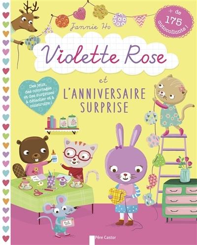 Couverture Violette Rose et l'anniversaire surprise