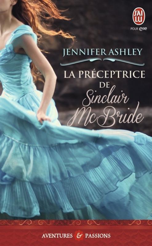 Couverture La préceptrice de Sinclair McBride