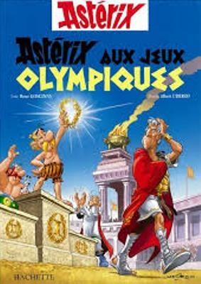 Couverture Astérix, tome 12 : Astérix aux jeux olympiques