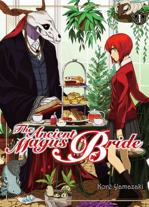 Couverture The ancient magus bride, tome 1