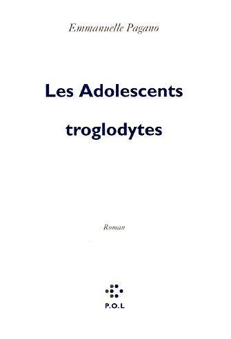 Couverture Les Adolescents troglodytes