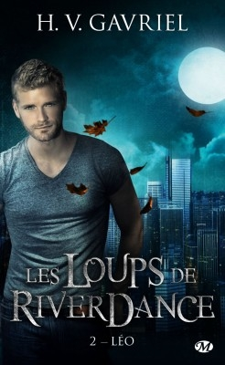 Couverture Les Loups de Riverdance, tome 2 : Léo