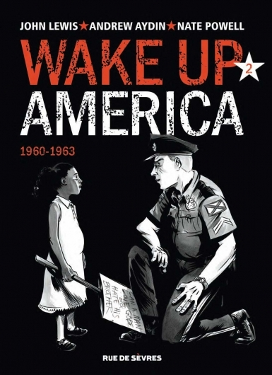 Couverture Wake up America, tome 2 : 1960-1963