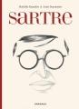 Couverture Sartre - Une existence, des libertés Editions Dargaud 2015