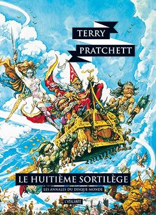 Couverture Les Annales du Disque-Monde, tome 02 : Le Huitième Sortilège