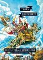 Couverture Les Annales du Disque-Monde, tome 02 : Le Huitième Sortilège Editions L'Atalante (La Dentelle du cygne) 2014