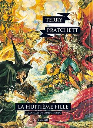 Couverture Les Annales du Disque-Monde, tome 03 : La Huitième Fille