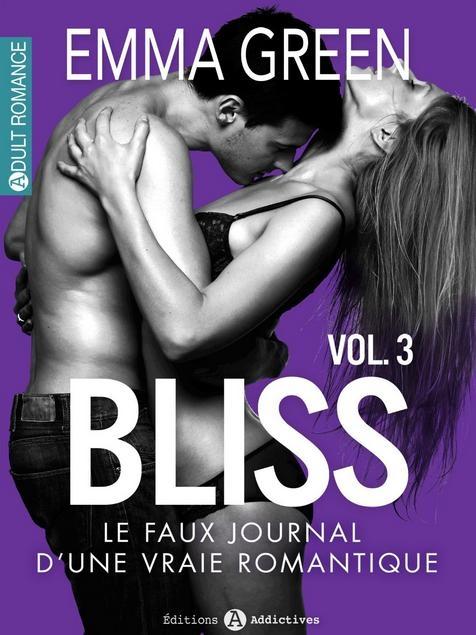 Couverture Bliss, le faux journal d'une vraie romantique, tome 03