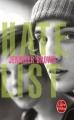 Couverture Hate list Editions Le Livre de Poche 2014