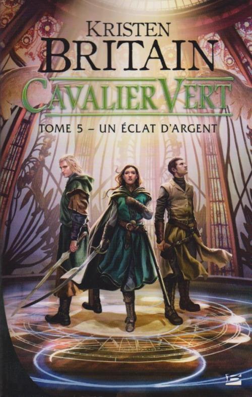 Couverture Cavalier Vert, tome 5 : Un éclat d'argent