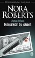 Couverture Lieutenant Eve Dallas, tome 37 : Insolence du crime Editions J'ai Lu 2015