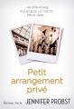 Couverture Petit arrangement privé Editions J'ai Lu 2015
