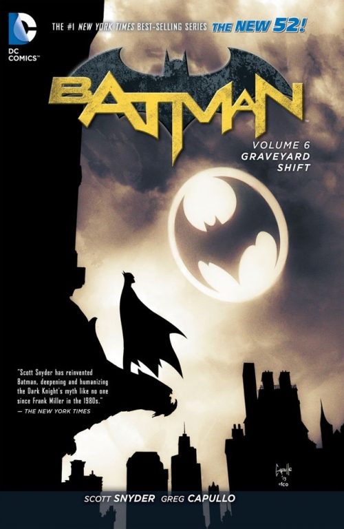 Couverture Batman (New 52), book 06: Graveyard Shift