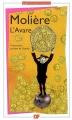Couverture L'avare Editions Flammarion (GF) 2009