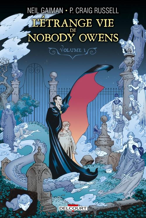 Couverture L'Étrange Vie de Nobody Owens (Comics), tome 1