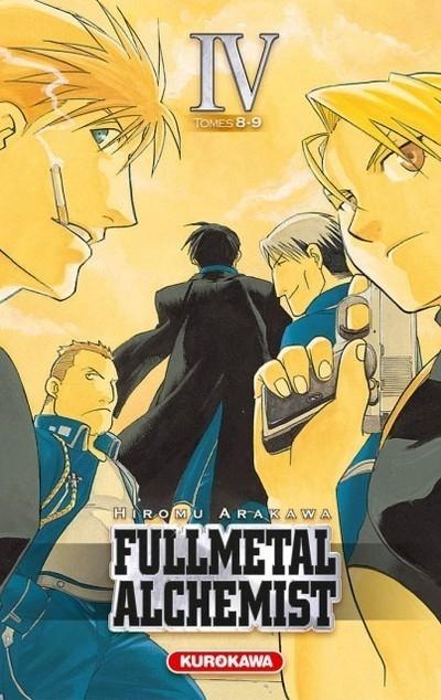 Couverture Fullmetal Alchemist, édition reliée, tome 04