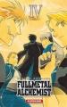 Couverture Fullmetal Alchemist, édition reliée, tome 04 Editions Kurokawa 2012