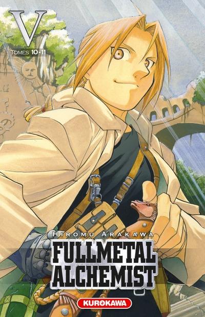 Couverture Fullmetal Alchemist, édition reliée, tome 05