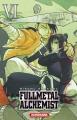 Couverture Fullmetal Alchemist, édition reliée, tome 06 Editions Kurokawa 2013