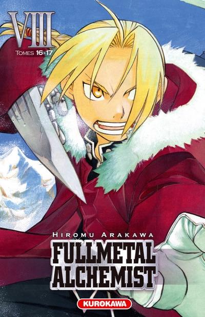 Couverture Fullmetal Alchemist, édition reliée, tome 08