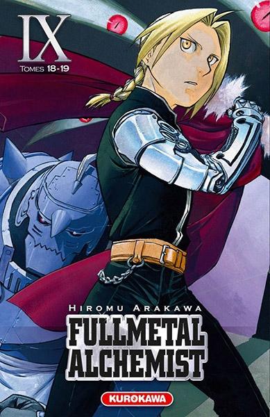 Couverture Fullmetal Alchemist, édition reliée, tome 09