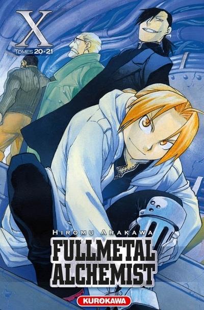 Couverture Fullmetal Alchemist, édition reliée, tome 10