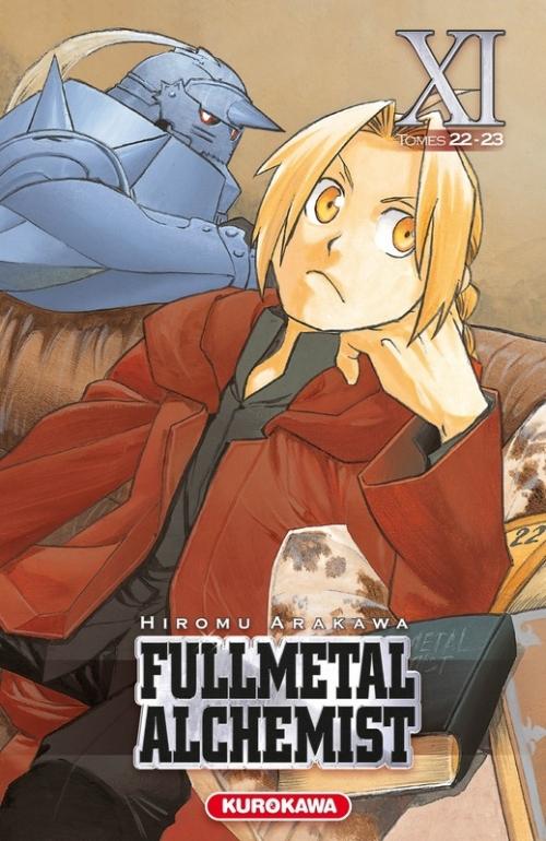 Couverture Fullmetal Alchemist, édition reliée, tome 11