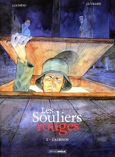 Couverture Les Souliers rouges, tome 2 : L'Albinos