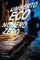 Couverture Numéro zéro Editions Grasset 2015