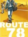 Couverture Route 78 Editions Delcourt (Mirages) 2015