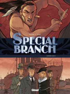 Couverture Special Branch, tome 4 : Londres rouge