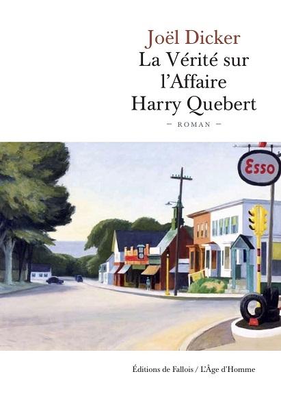 Couverture La vérité sur l'affaire Harry Québert