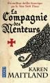 Couverture La Compagnie des menteurs Editions Pocket 2015
