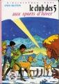 Couverture Le club des cinq aux sports d'hiver Editions Hachette (Bibliothèque rose) 1979