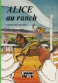 Couverture Alice au ranch Editions Hachette (Bibliothèque verte) 1980