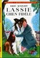Couverture Lassie, chien fidèle Editions Hachette (Idéal bibliothèque) 1981