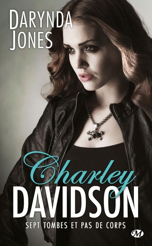 Couverture Charley Davidson, tome 07 : Sept tombes et pas de corps