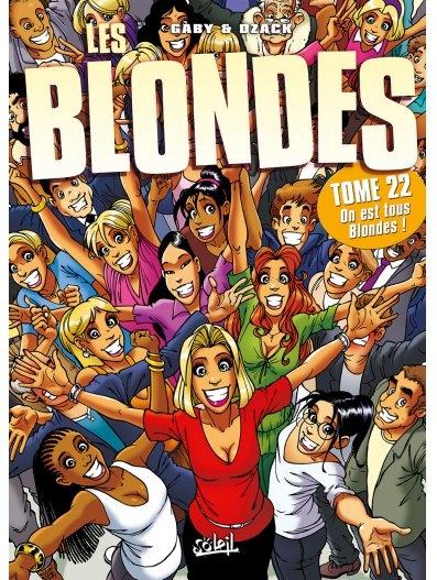 Couverture Les blondes, tome 22 : On est tous Blondes !